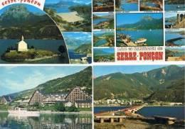 240213R Lot De 160 CPM Couleur Vierges Pour Courrier : Dep.05 (Hautes Alpes) : Serre_Poncon - Cartes Postales