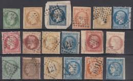 Frankreich Lot Klassik Gestempelt Ansehen !!!!!!!!!!!!!!!!!!!!!!! - 1863-1870 Napoléon III. Laure