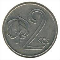 Tschecheslowakei 2 Korun 1991 - KM 148 - Xf - Tschechoslowakei