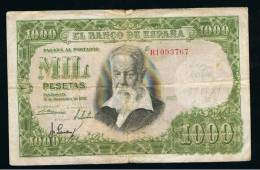 BILLETE ESPAÑA -  1000 Pesetas 1951 - Spagna