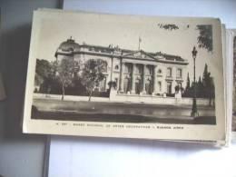 Argentinië Argentina Buenos Aires Museo Nacional - Argentinië