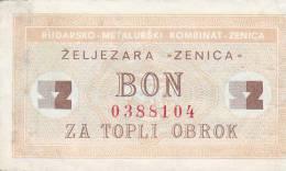 BOSNIEN  -  BON ZA OBROK  --  ZELJEZARA ZENICA  -  COAL MINE, MINE DE CHARBON, KOHLENGRUBE - Bosnien-Herzegowina