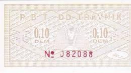 BOSNIEN  -  BON P. B. T. TRAVNIK - Bosnien-Herzegowina
