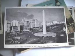 Argentinië Argentina Buenos Aires Obelisco - Argentinië