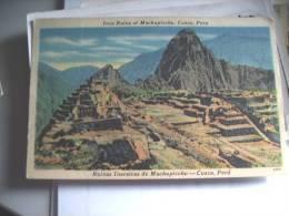 Peru Cuzco Ruinas Inacaicas Machupicchu - Peru