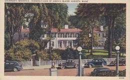 Maine Augusta Governors Residence