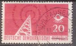 ALLEMAGNE,(DDR)DEUTSCHLAND,GERMANY,GERMANIA,ALEMANIA,OBLITERE,YVER 339. - [6] République Démocratique