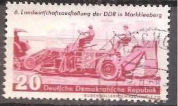 ALLEMAGNE,(DDR)DEUTSCHLAND,GERMANY,GERMANIA,ALEMANIA,OBLITERE,YVER 348. - [6] République Démocratique