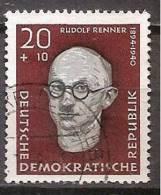 ALLEMAGNE,(DDR)DEUTSCHLAND,GERMANY,GERMANIA,ALEMANIA,OBLITERE,YVER 358. - [6] République Démocratique