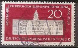 ALLEMAGNE,(DDR)DEUTSCHLAND,GERMANY,GERMANIA,ALEMANIA,OBLITERE,YVER 368. - [6] République Démocratique