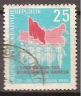 ALLEMAGNE,(DDR)DEUTSCHLAND,GERMANY,GERMANIA,ALEMANIA,OBLITERE,YVER 372. - Oblitérés