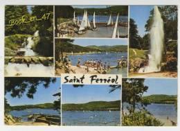 {55138} 31 Haute Garonne Bassin De Saint Ferréol , Multivues ;  Animée , Voiliers - Saint Ferreol