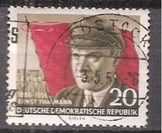 ALLEMAGNE,(DDR)DEUTSCHLAND,GERMANY,GERMANIA,ALEMANIA,OBLITERE,YVER 241. - Oblitérés