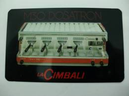 Drinks Coffee Torrefaction Machine La Cimbali Portuguese Pocket Calendar 1990 - Calendriers