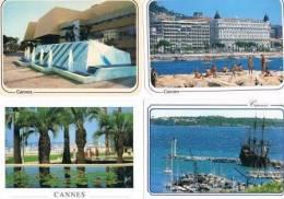 250213A Lot De 50 CPM Couleur Vierges Pour Courrier : Dep.06 (Alpes Maritimes) : Cannes - Cartes Postales