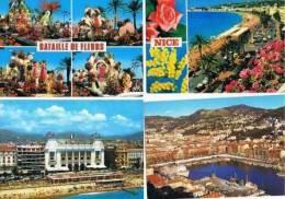 250213C Lot De 50 CPM Couleur Vierges Pour Courrier : Dep.06 (Alpes Maritimes) : Nice - Cartes Postales