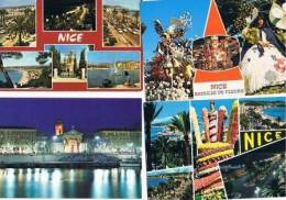 250213D Lot De 50 CPM Couleur Vierges Pour Courrier : Dep.06 (Alpes Maritimes) : Nice - 5 - 99 Karten