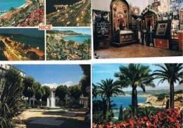 250213F Lot De 70 CPM Couleur Vierges Pour Courrier : Dep.06 (Alpes Maritimes) : Nice - Cartes Postales
