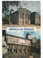 CPM Cadouin, Abbaye, Multivues, Cloitre - France