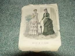 REVUE DE LA MODE  Gazette De La Famille  1883 - Literature