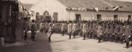 MILITARI  _ (  Ufficiali E Reparto Schierato )  R. Esercito Italiano - Formato 13 X 18 Cm - Guerre, Militaire