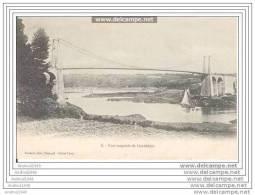 LEZARDRIEUX - Pont Suspendu - Carte Précurseur - Lannion