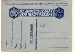 1941 Franchigia Cartolina Nuova - Fascio Pieno - Unito A Voi Come Non Mai ... - Filagrano F39.12 - Guerra 1939-45