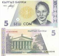 Kyrgyzstan P8, 5 Som, National Opera / Ballerina B. Beishenaliyeva $6CV! - Kyrgyzstan