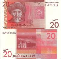 Kyrgyzstan P24, 10 Som, Poet Togolak Moldo / Tash-rabat, Mountains - Unclassified