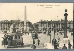 Paris - Place De La Concorde - France - Plätze