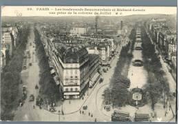Paris - Les Boulevards Beaumarchais Et Richard-Lenoir - France - Frankreich