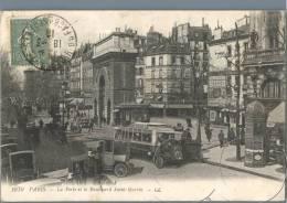 Paris - La Porte Et Le Boulevard Saint-Martin - France 1910s - Plätze