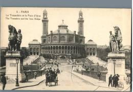 Paris - Le Trocadero Et Le Pont D'Iena - France - Plätze