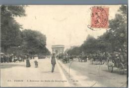 Paris - L'Avenue Du Bois De Boulogne - France 1900s - Parks, Gärten