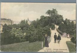 Paris - Buttes Chaumont, La Montee Au Belvedere - France - Parks, Gärten