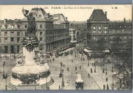 Paris - La Place De La Republique - France 1920s - Plätze