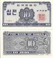 Korea, South, P28, 10 Jeon, 1962, UNC - Korea, South