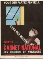 Carnet Complet Cclonies De Vacances - Antituberculeux