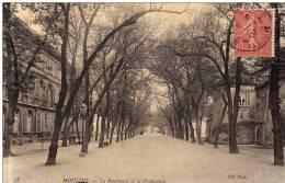 38 - Moulins - Le Boulevard Et La Prefecture  -  N.D. Phot. - Moulins