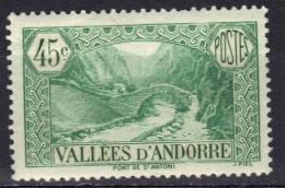 Andorre N° 63 * - Französisch Andorra
