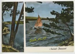 {55131} 31 Haute Garonne Bassin De Saint Ferréol , Multivues ; Les Rives Du Bassin, Les Régates - Saint Ferreol
