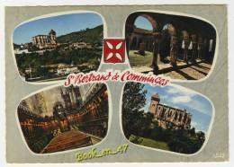 {55152} 31 Haute Garonne Saint Bertrand De Comminges , Multivues ; Vue Générale , Cloître , Cathédrale - Saint Bertrand De Comminges