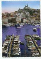 13  MARSEILLE  Le Port Et Notre Dame De La Garde - Vieux Port, Saint Victor, Le Panier