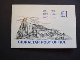 GIBRALTAR 1981  BOOKLET 6 X 15 + 4 X 1       MNH **  (SURMAP-E- /015) - Gibraltar
