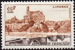 France Architecture Pont N° 1019 ** Site - Monument - Limoges - Pont Saint Etienne Sur La Vienne Et La Cathédrale - Ponts