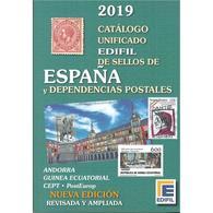 ESLI-L4028TLC.España Spain Espagne LIBRO CATALOGO EDIFIL 2019 - Cultura