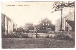 LAMORTEAU - Passage à Niveau - 1917 - Belgique