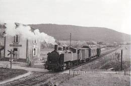 Unique 42 Carte Photo BELMONT  Passage D´un Train - Belmont De La Loire