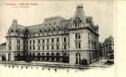 LAUSANNE - HOTEL DES POSTES -N/C - ANIMEE - TTB - VD Vaud