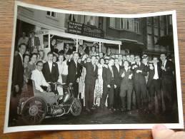 STUDENTEN 1957 / Oude Driewieler / Moto ( Soep VAN BOOM / Maison P.C.Boeckx-Melis Fleurop ) ( Zie Foto Voor Details ) !! - Lieux